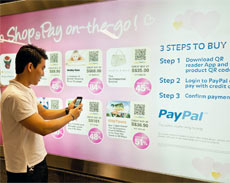 PayPal Shop and Pay On-the-Go